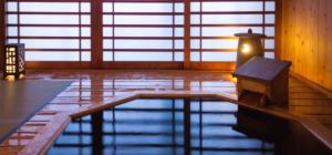 露店風呂付客室「彩香」